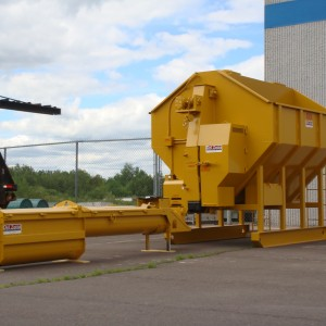 "WDZ-200 Mixer, 16"" double Auger ready to ship"